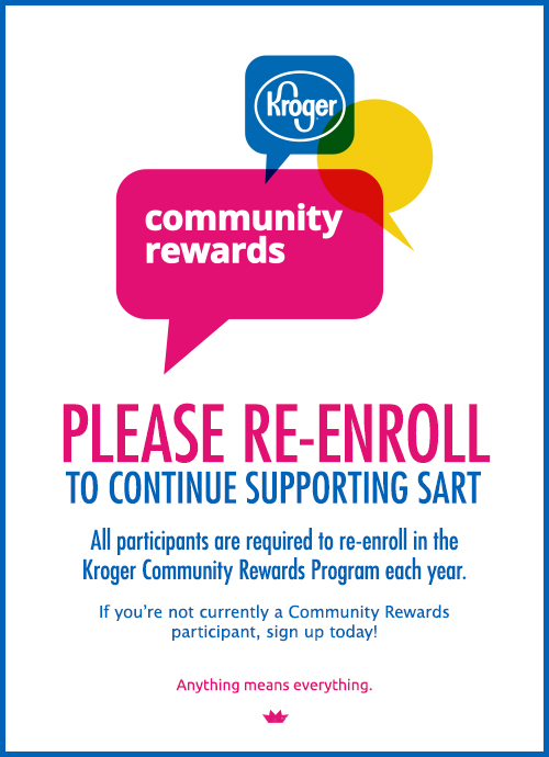 Re-enroll in Kroger Community Rewards
